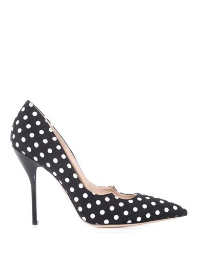 Zenadia polka-dot pumps