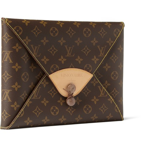 Fashion Special Limited Edition Portfolio in Leather Louis Vuitton Case