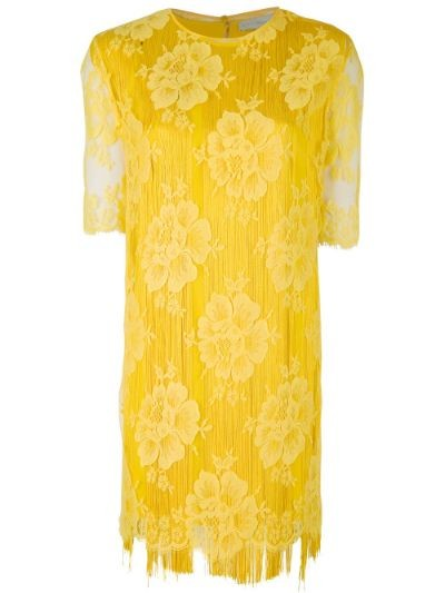 'York' fringed mini dress