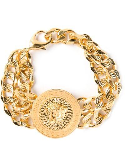 medusa chain bracelet