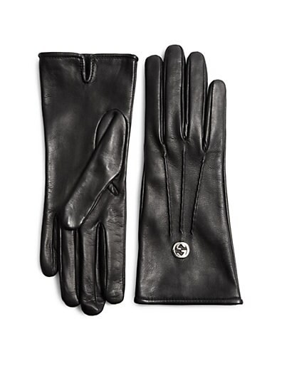 Guanti Donna Leathe Gloves