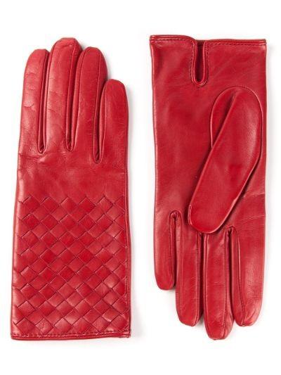 intrecciato gloves
