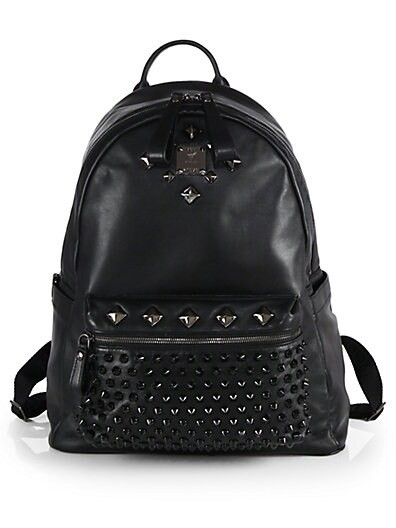 Studded Medium Backpack
