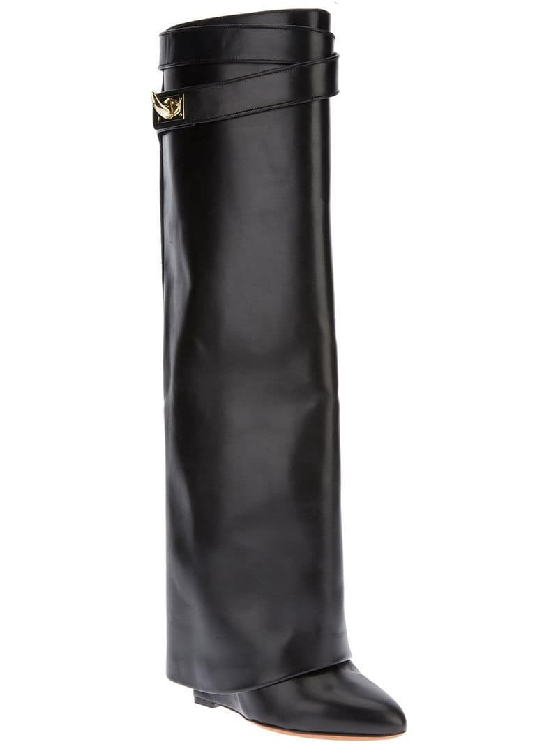 GIVENCHY 'Shark Lock' leather boot