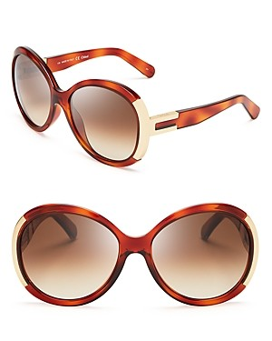 Chloe Oversized Round Sunglasses