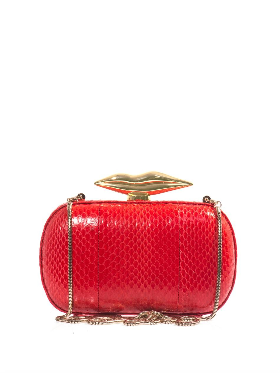 Flirty Minaudiere box clutch