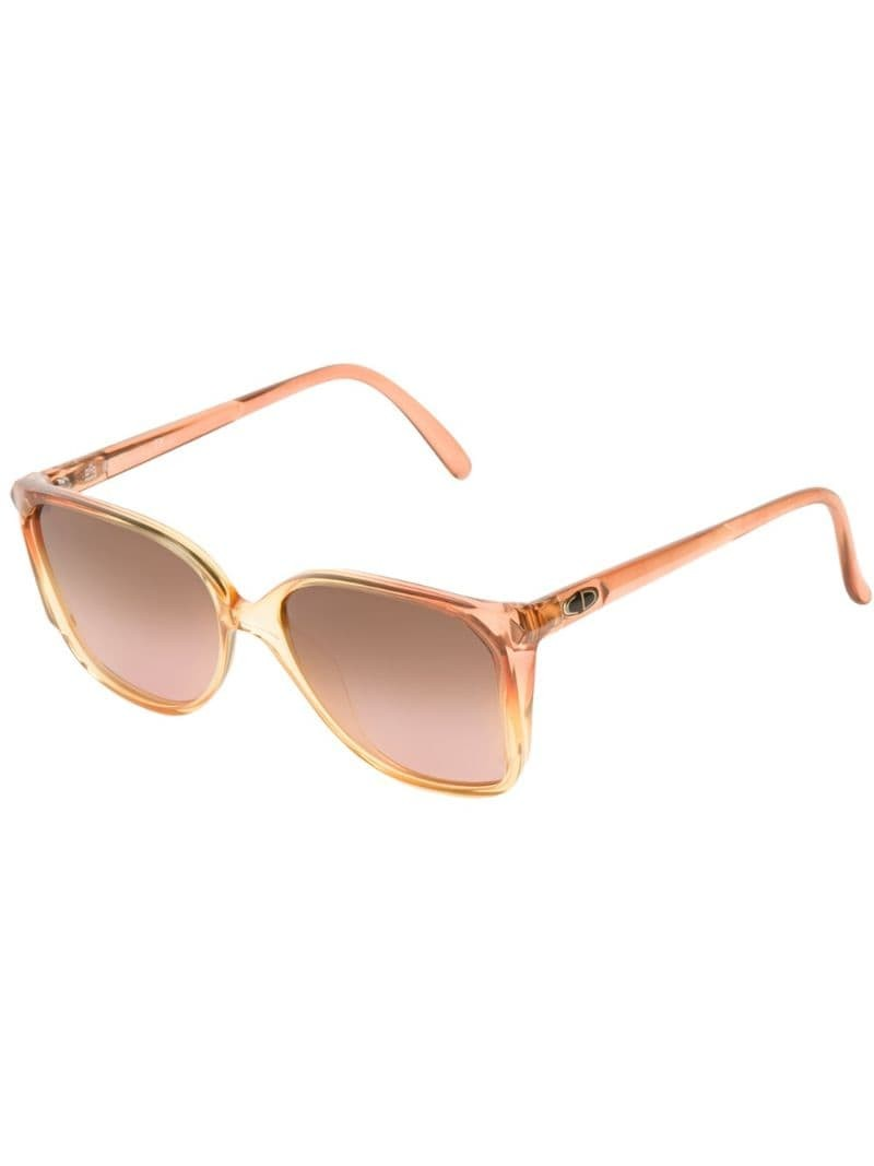 CHRISTIAN DIOR VINTAGE square sunglasses