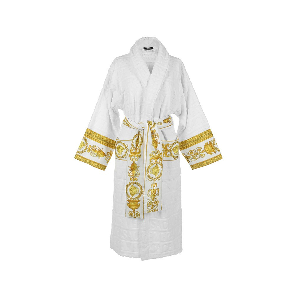 Versace - White Bathrobe - Extra Large