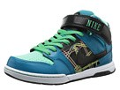 Nike SB - Mogan Mid 2 (Green Glow/Atomic Red/Volt/Black) - Footwear