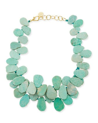 Clustered Amazonite Necklace - Nest