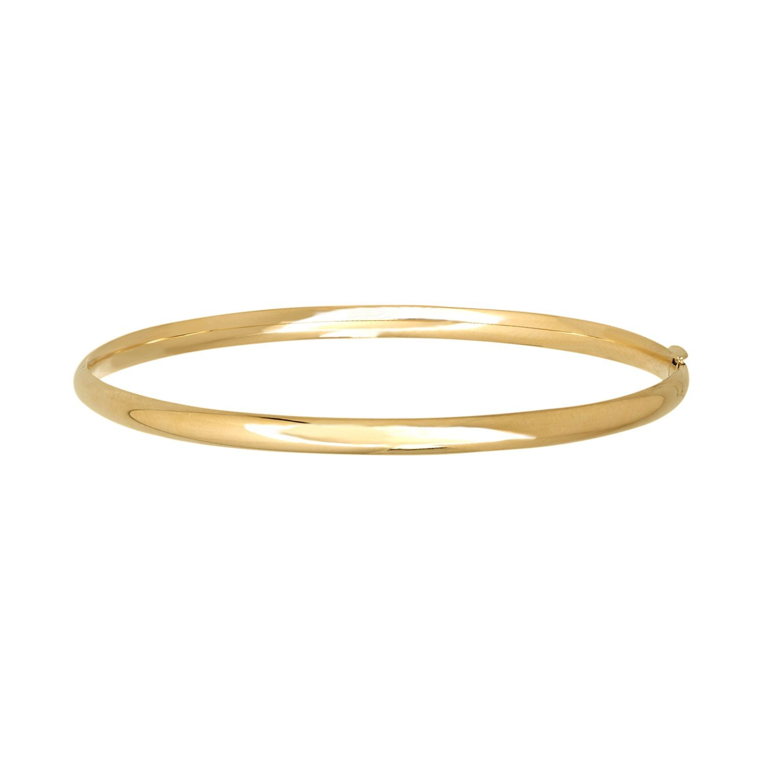 Everlasting Gold 14k Gold Bangle Bracelet