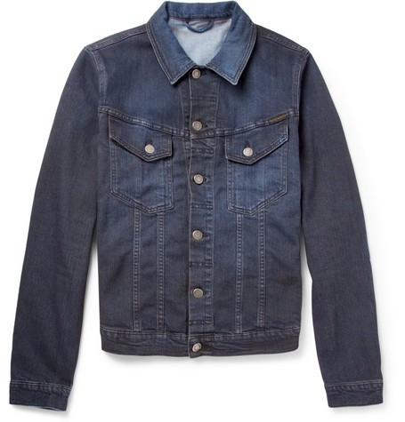 Perry Overdyed Organic Denim Jacket