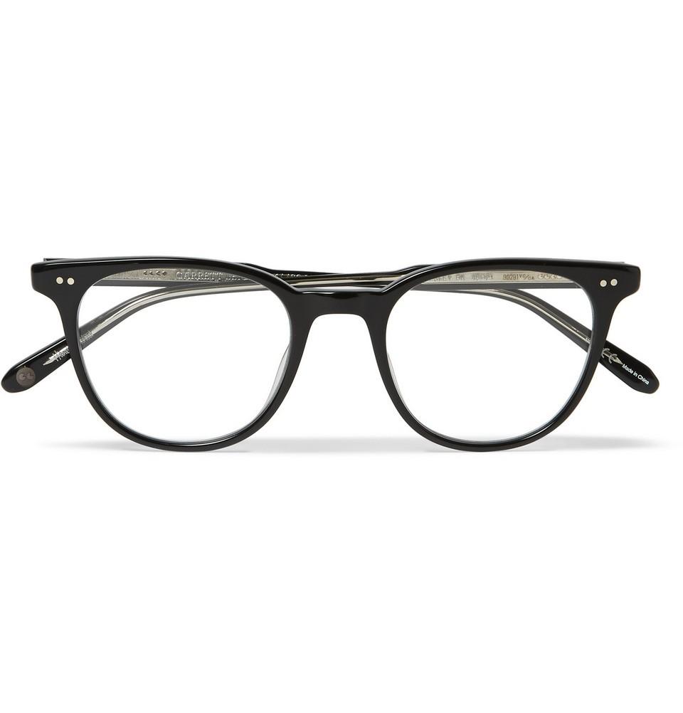 Wellesley Square-Frame Acetate Optical Glasses Black