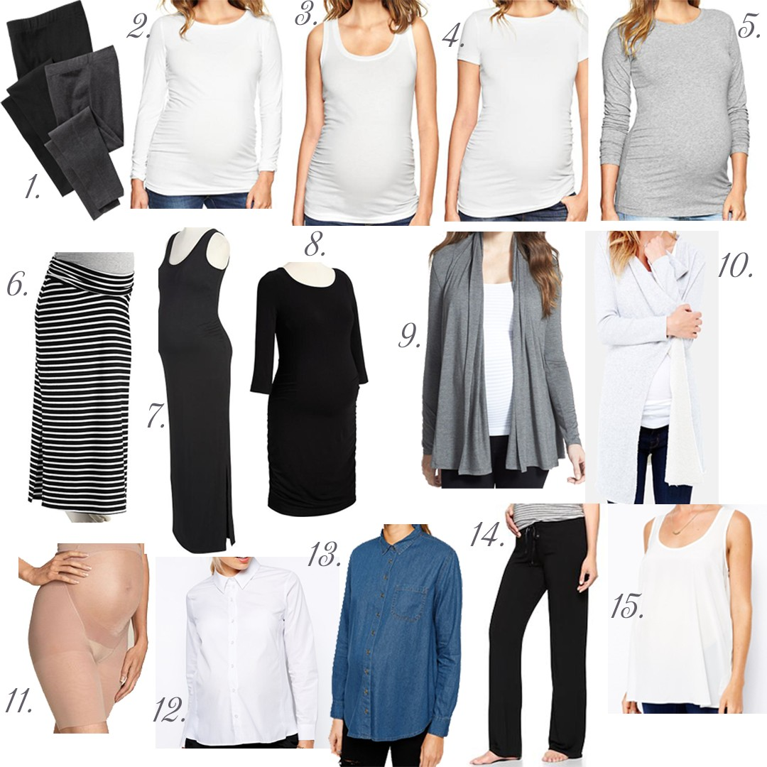 Maternity Must Haves: Back to the Basics
