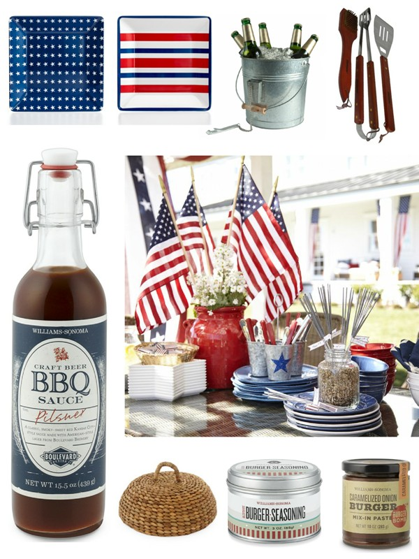 4th of July Grilling and Cookout Essentials - via BirdsParty.com