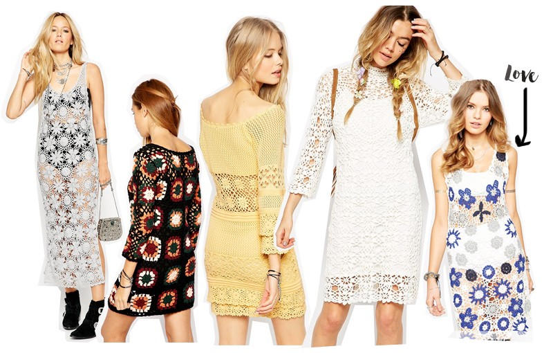 Asos Summer Crochet Dresses