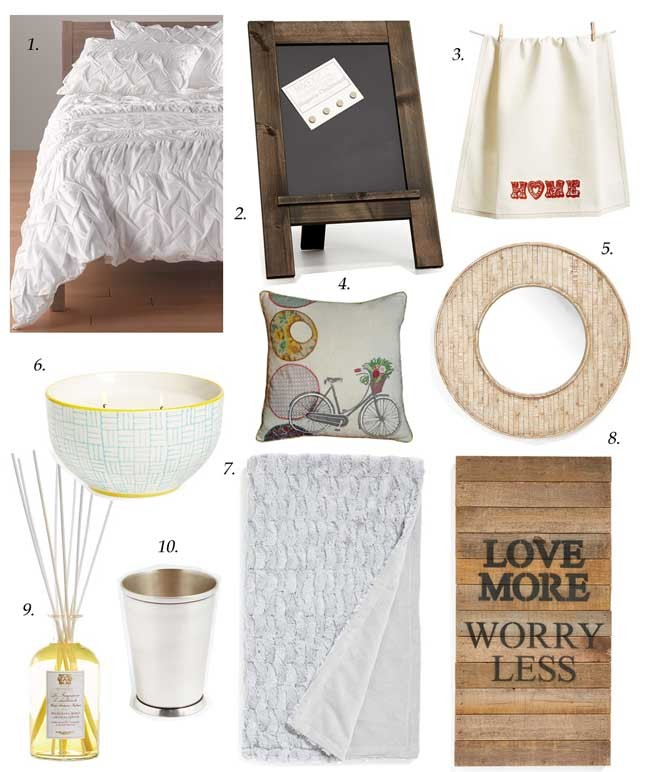 nordstrom anniversary sale, white duvet, wood trim mirror