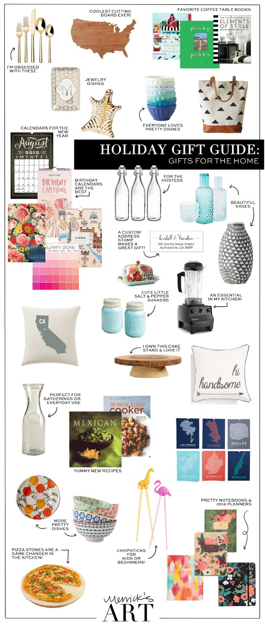 Merrick's Art | Christmas gift guide home decor