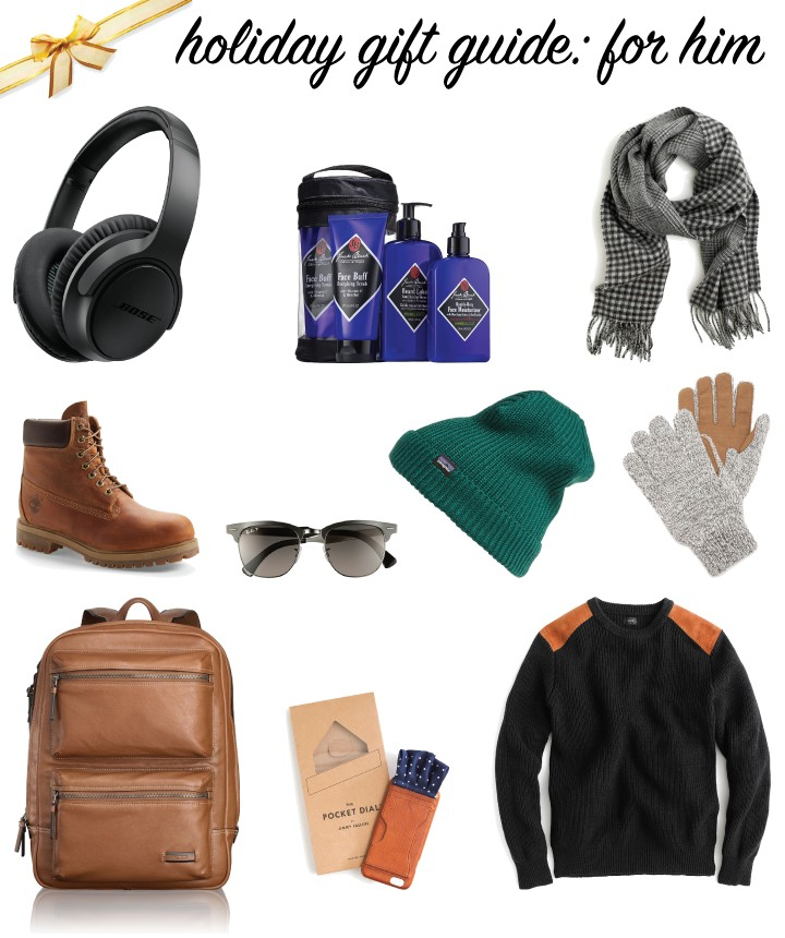Holidy Gift Guide: For Him // A Style Caddy