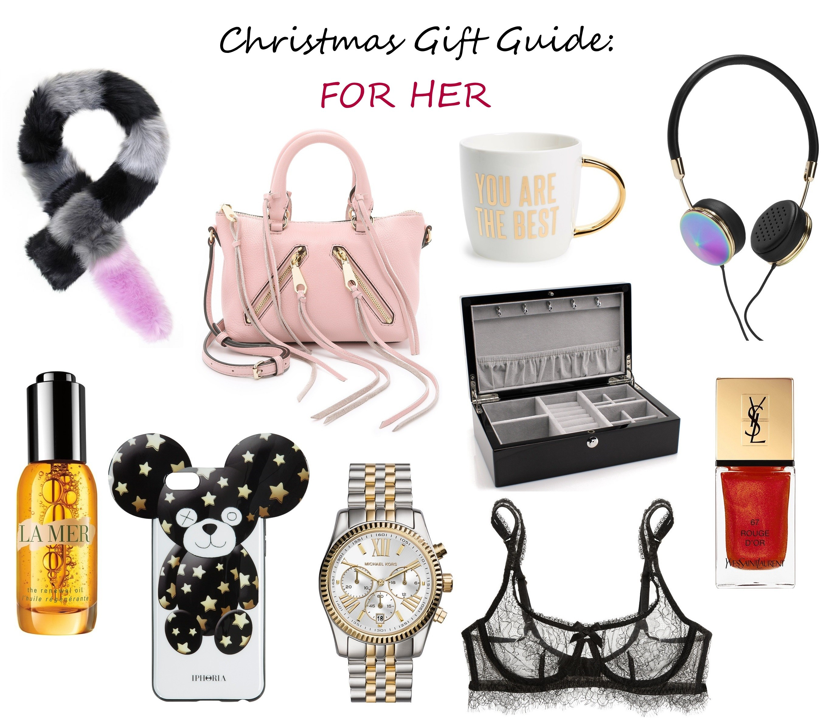 christmas gift guide for her presents for girlfrend mother wife sister