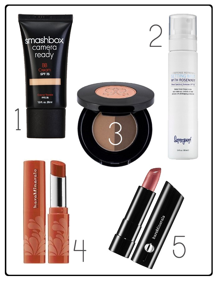 A handful of really great beauty products for makeup minimalists