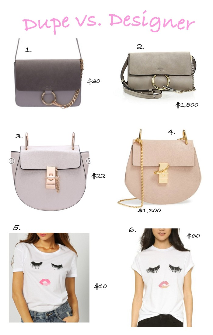 Favorite Designer Dupes by Portland fashion blogger Topknot and Pearls