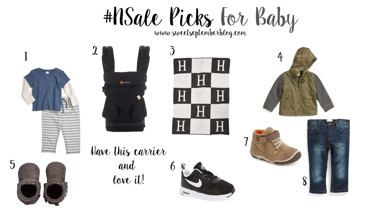 nordstrom anniversary sale picks for baby