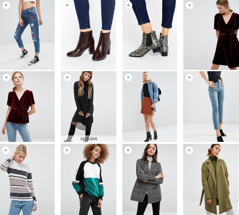 fall favorites under 50 asos