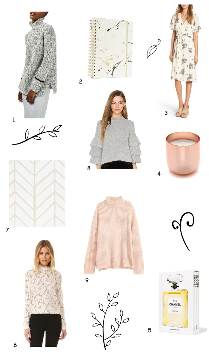 Everything in this week's collection of beautiful clothing and home decor is under $100.