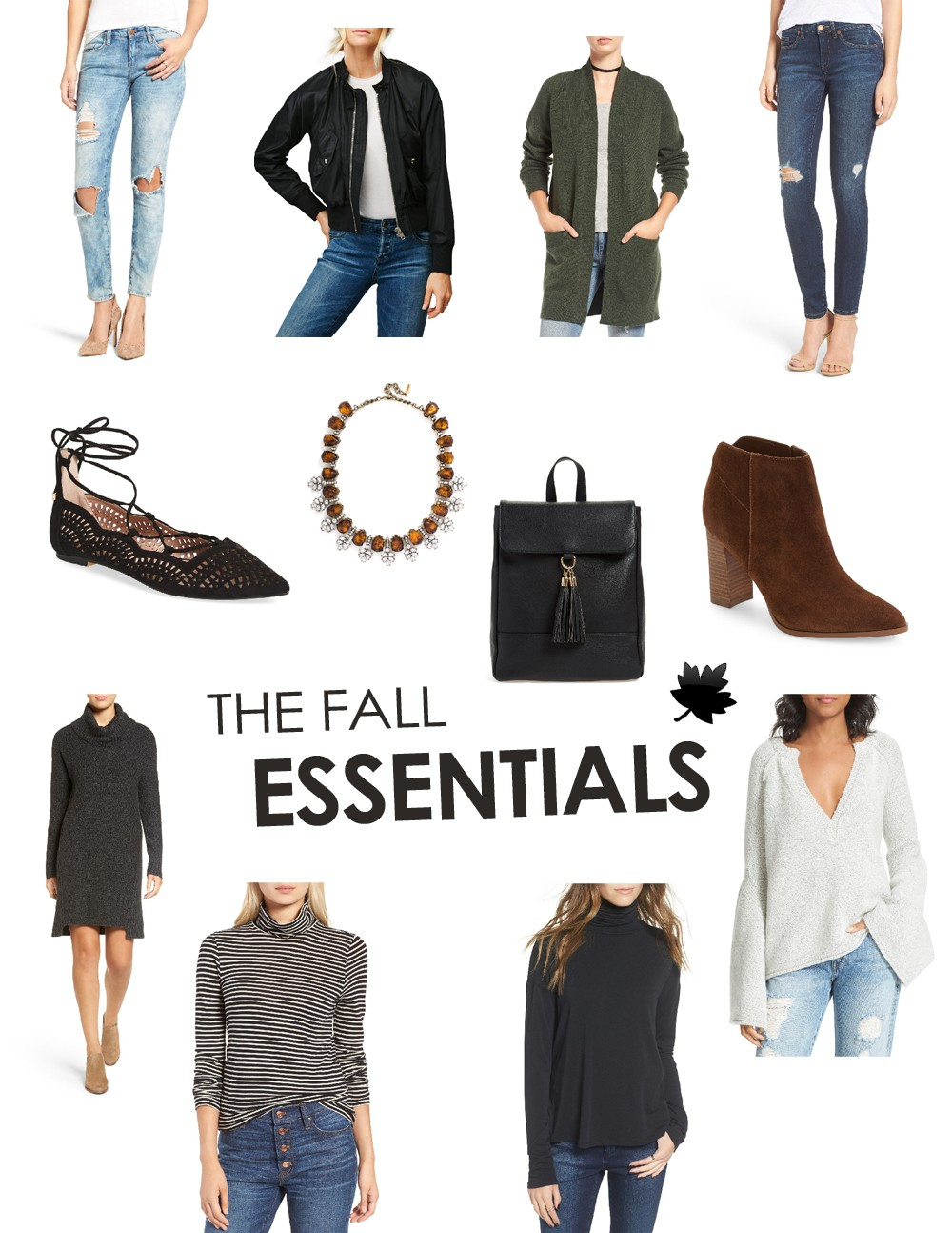 The Fall Essentials You Need In Your Closet - Under $100
