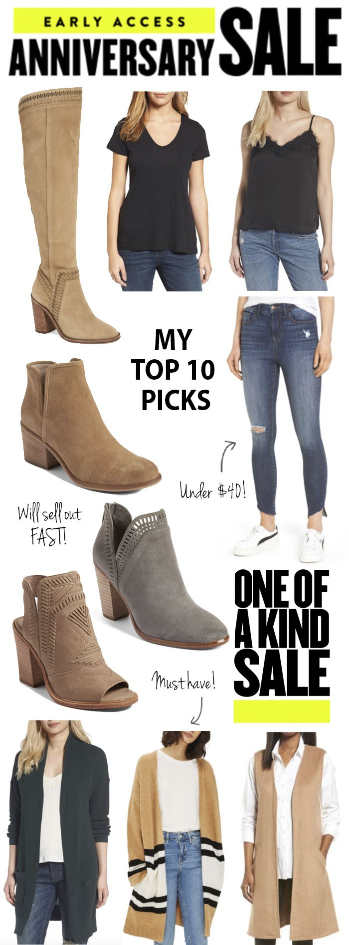 Nordstrom Anniversary Sale Early Access Top Picks | Chasing Cinderella