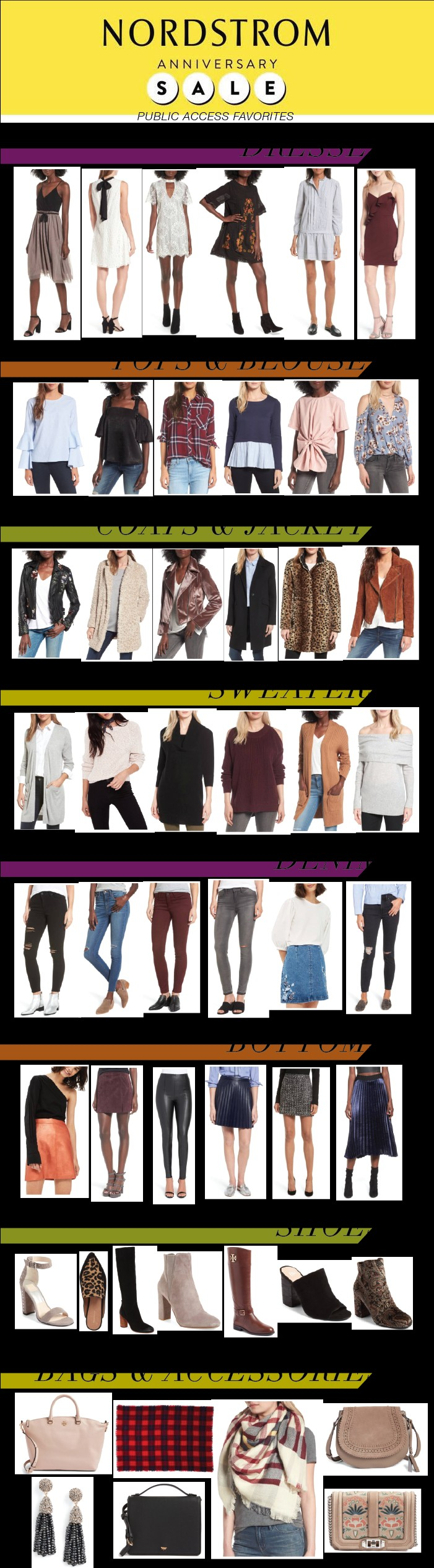 Nordstrom Anniversary Sale Public Access Favorites