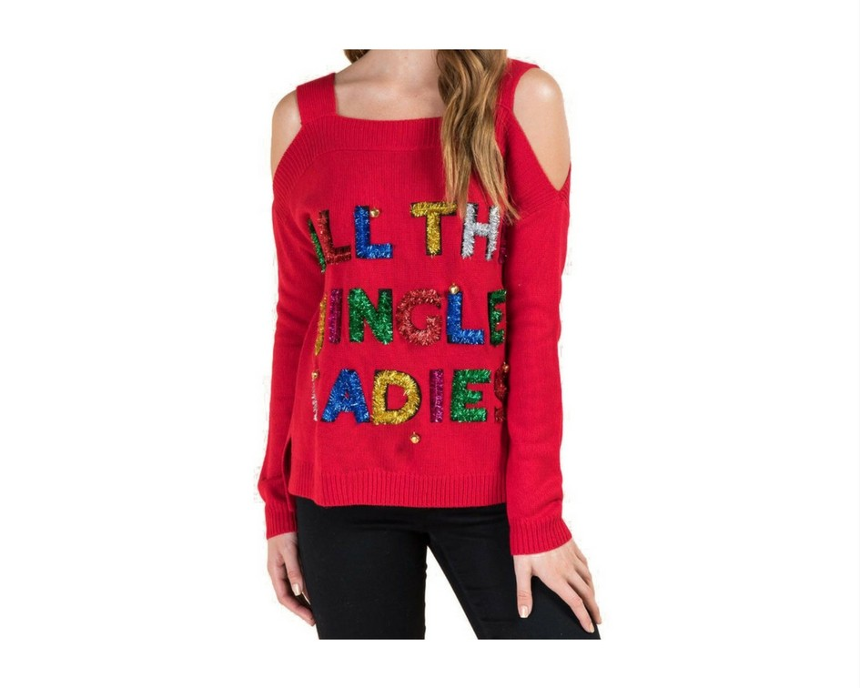 Cute Christmas Sweaters for Women 2017 - All the jingle ladies sweater