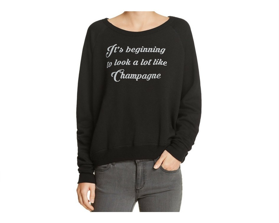 Cute Christmas Sweaters for Women 2017 - champagne sweater