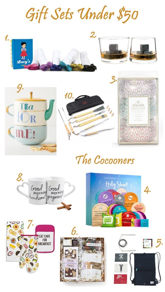 Christmas Gift guide gift Sets Under 50