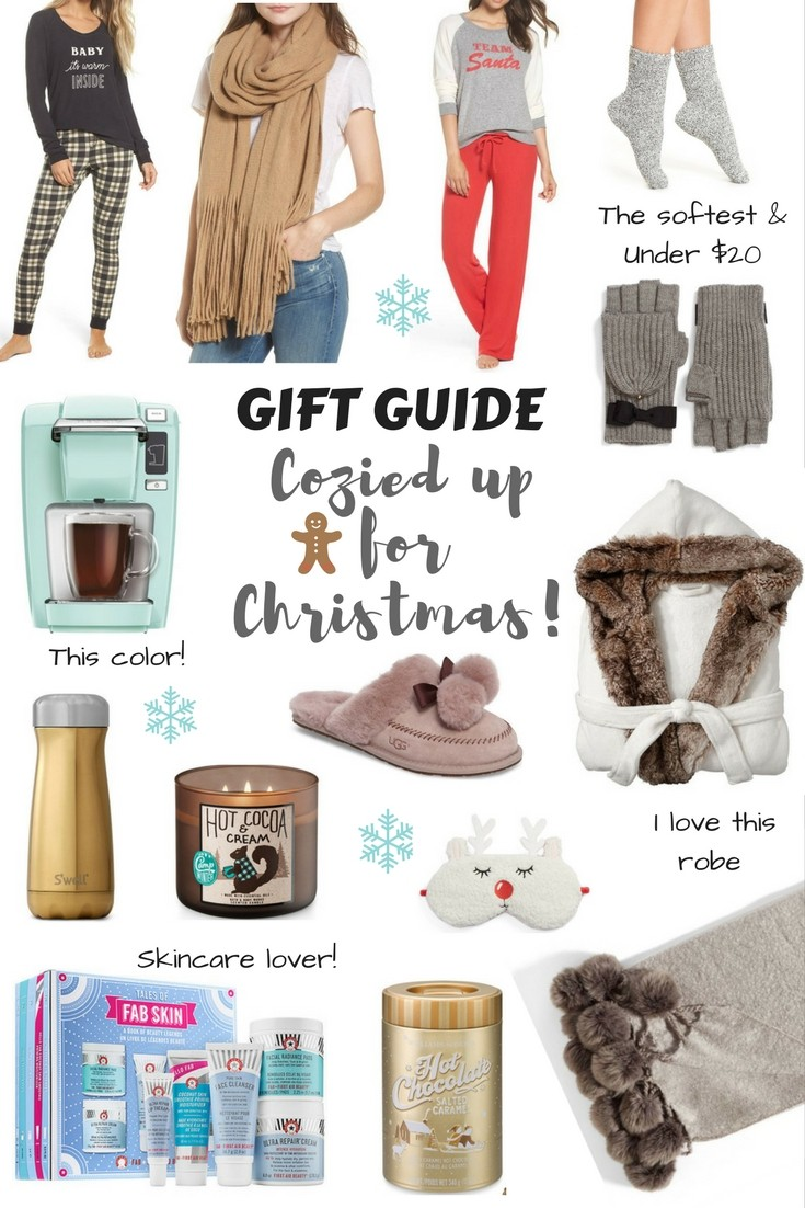 HOLIDAY GIFT GUIDE// Cozy Gifts by Boston fashion blogger Living Life Pretty