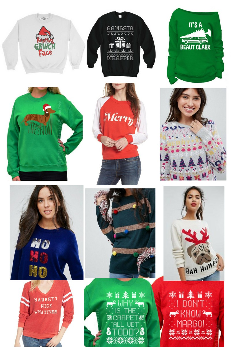 Gift Guide to Women's Holiday Sweaters by Nashville fashion blogger Greta Hollar