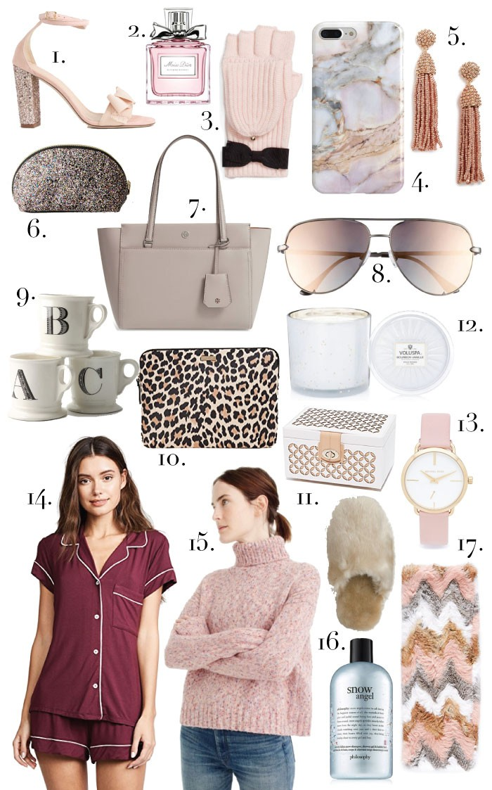 Holiday 2017 gift guide: gift ideas for her