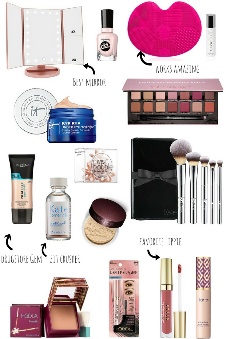Top Beauty Products of 2017 by LivingLifePretty