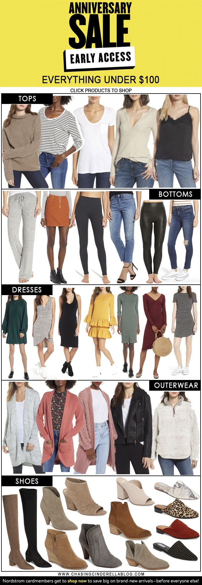 Nordstrom Anniversary Sale Early Access Top Picks Under $100 | Chasing Cinderella