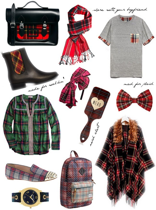 fall plaid fashion 2014
