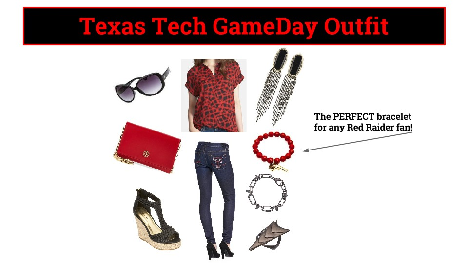 Texas Tech GameDay Outfit, Texas Tech GameDay Style
