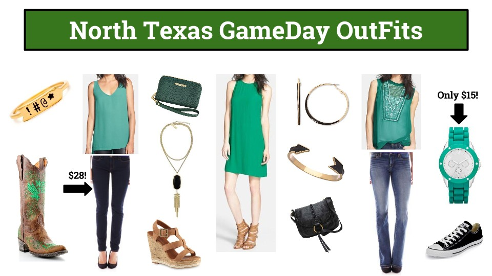 North Texas GameDay Dresses, North Texas GameDay Outfit
