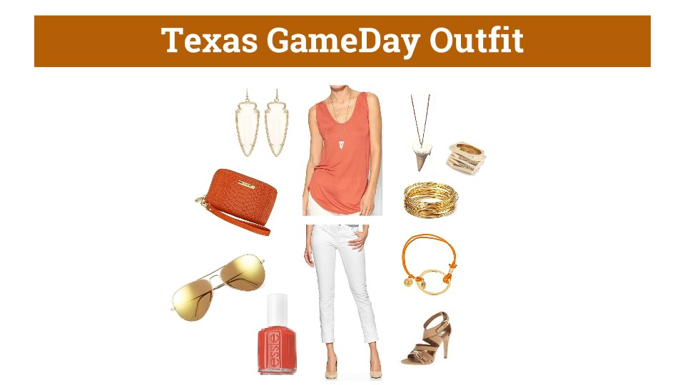 Texas Gameday outfit