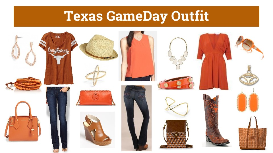 Texas Gameday Outfit, Texas Gameday Dress,