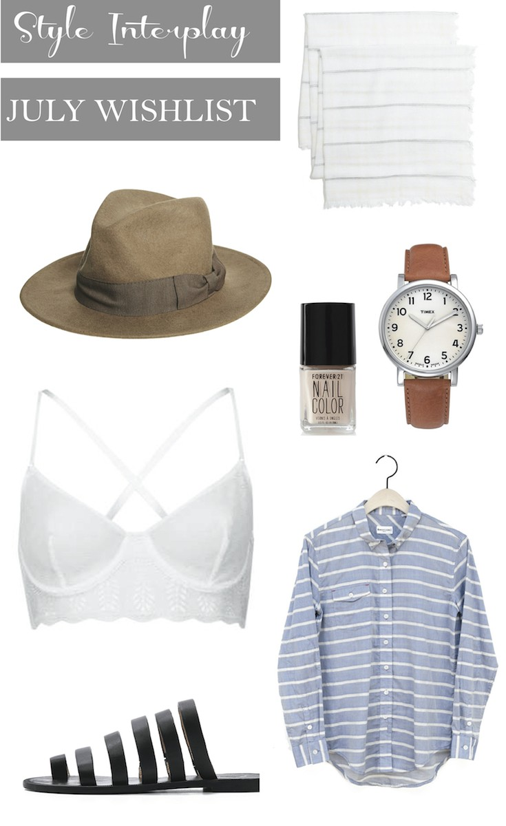 Wish_List_July_Shopping
