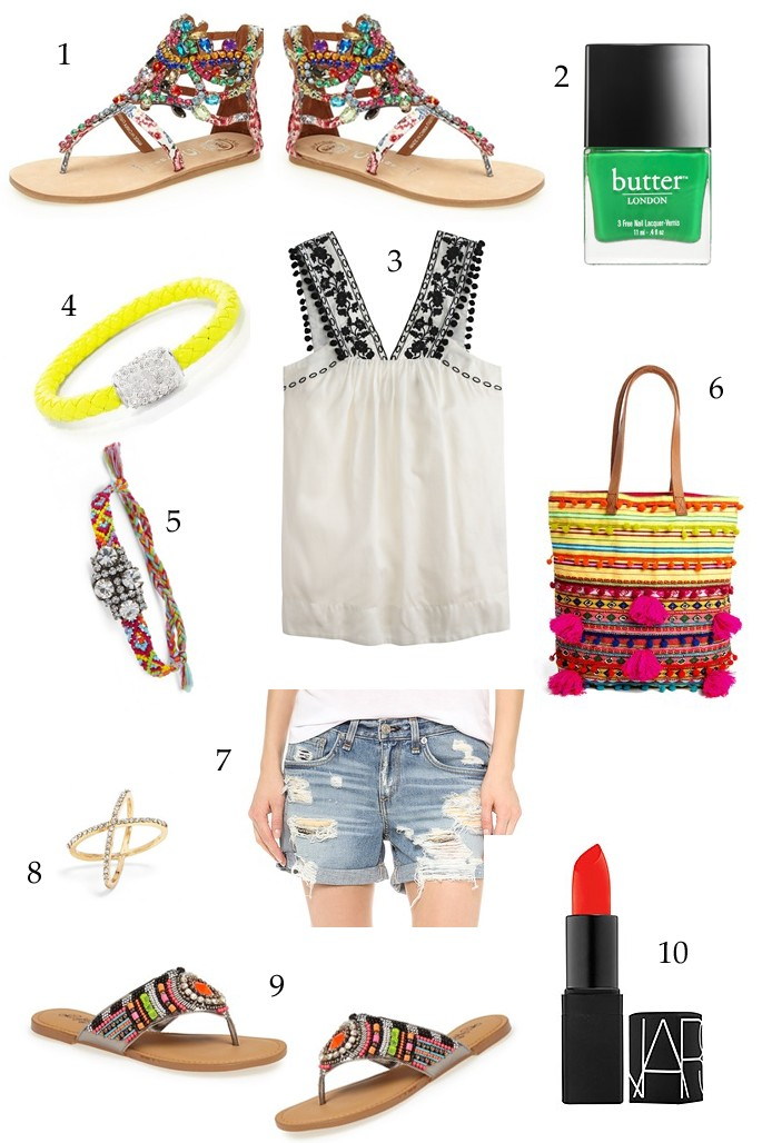 tropical vacation outfit ideas, fiesta style, mexico