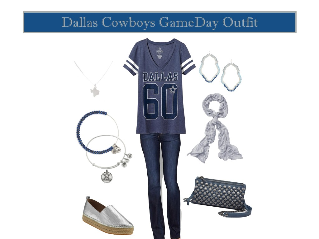 what to wear to a football game, cowboys gameday looks