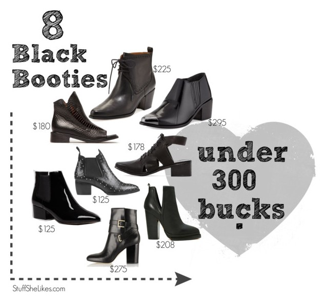 cheap boots, black booties, best fall booties, fashion blogger, blogger, top fashion blogger, Best black booties for fall, Stuff She Likes, taye hansberry, shopping guide