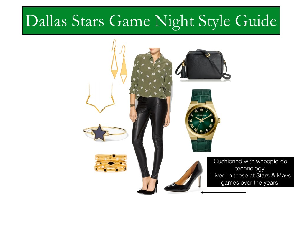 what to wear to a Dallas Stars game, What to wear to a stars game